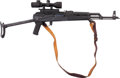 Long Guns:Semiautomatic, Romanian WASR-10/63 (AK-47) Semi-Automatic Rifle with Telescopic Sight....