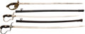 Edged Weapons:Swords, Lot of Three Imperial German Swords.... (Total: 3 Items)