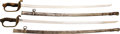 Edged Weapons:Swords, Lot of Two WWII Japanese Army Parade Sabers.... (Total: 2 Items)