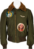 "Militaria:Uniforms, Fantastic WWII Army Air Force Type B-15 Flight Jacket ""Mareeba Butchers"", 403rd Bomb Squadron, 5th Air Force...."