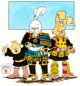 Stan Sakai - Usagi Yojimbo and Friends Illustration Original Art (1989)