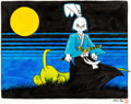 Original Comic Art:Illustrations, Stan Sakai - Usagi Yojimbo Illustration Original Art (1988).. ...