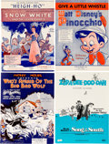 Movie/TV Memorabilia:Documents, A Collection of Walt Disney Films Sheet Music, Circa 1970s....