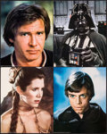 """Movie Posters:Science Fiction, Return of the Jedi (20th Century Fox, 1983). Deluxe Jumbo LobbyCards (11) (16"""" X 20""""). Science Fiction.. ... (Total: 11 Items)"""