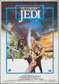 "Movie Posters:Science Fiction, Return of the Jedi (20th Century Fox, 1983). Spanish One Sheet(27.5"" X 39.5""). Science Fiction.. ..."