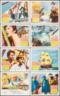 "Movie Posters:Adventure, Damn the Defiant! (Columbia, 1962). Lobby Card Set of 8 (11"" X14""). Adventure.. ... (Total: 8 Items)"