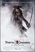 "Movie Posters:Adventure, Pirates of the Caribbean: At World's End (Buena Vista, 2007). MiniPoster (18.5"" X 27""). DS Advance. Adventure.. ..."