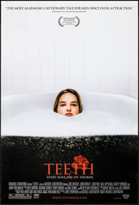 "Teeth (Roadside Attractions, 2007). One Sheets (9) Identical (27"" X 40"") SS. Horror. ... (Total: 9 Items)"