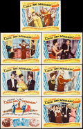 """Movie Posters:Musical, Call Me Madam (20th Century Fox, 1953). Title Lobby Card &Lobby Cards (6) (11"""" X 14""""). Musical.. ... (Total: 7 Items)"""