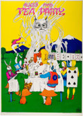"Music Memorabilia:Posters, Greg Irons ""Alice's Mad Tea Party"" Poster (San Francisco Impulse,1967)...."