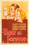 """Movie Posters:Drama, Now and Forever (Paramount, 1934). One Sheet (27"""" X 41"""") Style A.. ..."""
