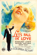 "Movie Posters:Musical, Let's Fall in Love (Columbia, 1933). One Sheet (27"" X 41"").. ..."