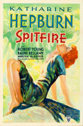 "Movie Posters:Drama, Spitfire (RKO, 1934). One Sheet (27"" X 41"").. ..."