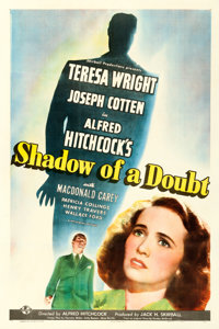 """Shadow of a Doubt (Universal, 1943). One Sheet (27"""" X 41"""") Style C"""