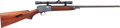 Long Guns:Semiautomatic, Winchester Model 63 Semi-Automatic Rifle with Telescopic Sight....