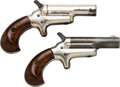 Handguns:Derringer, Palm, Lot of Two Colt Third Model Deringers.... (Total: 2 Items)