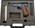 Handguns:Semiautomatic Pistol, Cased Belgian FN Browning Hi-Power Semi-Automatic Pistol....
