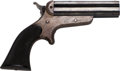 Handguns:Derringer, Palm, Sharps & Hankins Four Barrel Pocket Pistol....