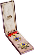 Military & Patriotic:Foreign Wars, Order of the Star of Romania Grand Officer Set in the Original Case....