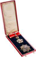 Military & Patriotic:Foreign Wars, Czechoslovakian Order of the White Lion Grand Officer (Civil) in the Original Case.... (Total: 2 )