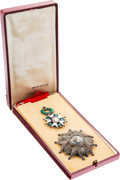 Military & Patriotic:Foreign Wars, French Legion of Honor Grand Cross Breast Star and Knight Medal....
