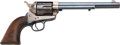 Handguns:Single Action Revolver, U.S. Colt Cavalry Model Single Action Revolver Issued to the New York State Militia....