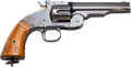 Handguns:Single Action Revolver, Smith & Wesson Early Second Model Schofield Marked Wells FargoSingle Action Revolver....
