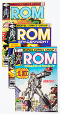 Modern Age (1980-Present):Superhero, Rom #1-60 Complete Range Plus Group of 61 (Marvel, 1978-84)Condition: Average VF.... (Total: 61 Comic Books)