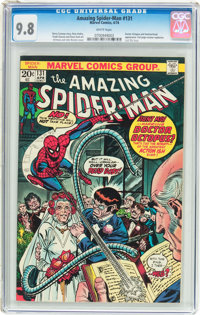 The Amazing Spider-Man #131 (Marvel, 1974) CGC NM/MT 9.8 White pages
