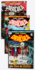 Bronze Age (1970-1979):Horror, Tomb of Dracula Group of 66 (Marvel, 1972-79) Condition: AverageFN/VF.... (Total: 66 Comic Books)