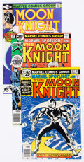Modern Age (1980-Present):Superhero, Moon Knight Group of 41 (Marvel, 1980-85) Condition: Average VF....(Total: 41 Comic Books)