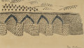 Works on Paper, Ben Shahn (American, 1898-1969). Bridge. Ink and gouache on paper. 4-1/8 x 7-1/8 inches (10.5 x 18.1 cm) (sight). Signed...