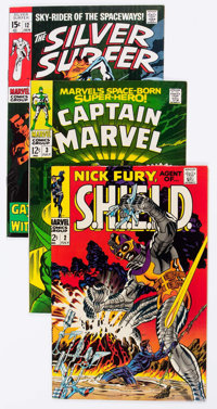 Marvel Silver and Bronze Age Comics Group of 9 (Marvel, 1960s-70s) Condition: Average VF/NM.... (Total: 9 Comic Books)