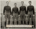 "Football Collectibles:Photos, 1920's ""Four Horsemen"" of Notre Dame Original Photograph - Hung atthe Helms Athletic Foundation! ..."