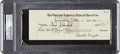 Miscellaneous Collectibles:General, 1939 Orville Wright Signed Check, PSA/DNA Authentic.