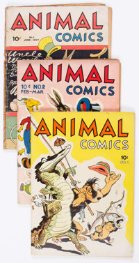 Animal Comics #1-30 Complete Run Group (Dell, 1942-47) Condition: Average VG/FN.... (Total: 30 Comic Books)