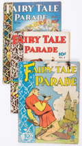 Golden Age (1938-1955):Humor, Fairy Tale Parade #1-9 Group (Dell, 1942-43) Condition: Average VG-.... (Total: 9 Comic Books)