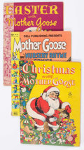 Golden Age (1938-1955):Funny Animal, Four Color Mother Goose Related Group of 12 (Dell, 1944-49)Condition: Average VG.... (Total: 12 Comic Books)