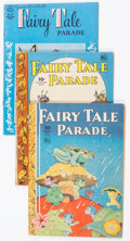 Golden Age (1938-1955):Funny Animal, Four Color Fairy Tale Parade Group of 6 (Dell, 1944-46) Condition:Average VG.... (Total: 6 Comic Books)
