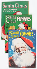 Golden Age (1938-1955):Miscellaneous, Four Color Santa Claus Funnies Group of 6 (Dell, 1944-49) Condition: Average VG+.... (Total: 6 Comic Books)