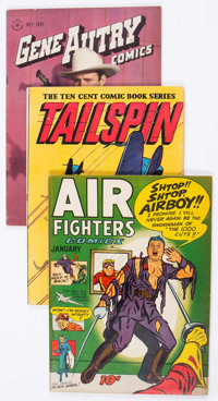 Golden Age Miscellaneous Comics Group of 12 (Various Publishers, 1940s-50s) Condition: Average VG/FN.... (Total: 12 Comi...