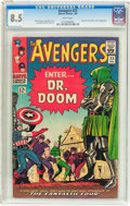Silver Age (1956-1969):Superhero, The Avengers #25 (Marvel, 1966) CGC VF+ 8.5 White pages....