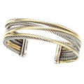 Estate Jewelry:Bracelets, Gold, Sterling Silver Bracelet, David Yurman. ...