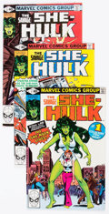 Modern Age (1980-Present):Superhero, The Savage She-Hulk #1-25 Complete Series Group (Marvel, 1980-82)Condition: Average VF.... (Total: 25 Comic Books)