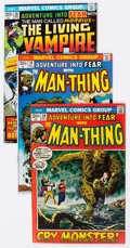 Bronze Age (1970-1979):Horror, Fear #1, 3-31 Near Complete Series Group (Marvel, 1970-75)Condition: Average FN+.... (Total: 30 Comic Books)