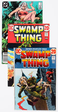 Bronze Age (1970-1979):Horror, Swamp Thing Group of 50 (DC, 1972-84).... (Total: 50 Comic Books)