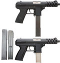 Handguns:Semiautomatic Pistol, Lot of Two Interdynamic TEC-9 KG-9 Semi-Automatic Pistols.... (Total: 2 Items)