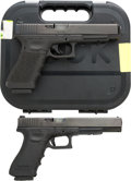Handguns:Semiautomatic Pistol, Lot of Two Glock Semi-Automatic Pistols.... (Total: 2 Items)