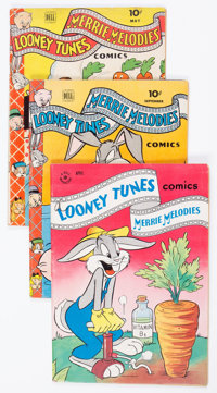 Looney Tunes and Merrie Melodies Comics Group of 40 (Dell, 1944-60) Condition: Average VG/FN.... (Total: 40 Comic Books)
