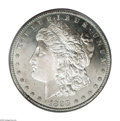 Morgan Dollars: , 1898-S $1 MS65 Deep Mirror Prooflike PCGS. Uncommonly well mirroredfor the for this lesser s...
